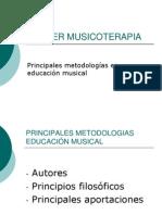 Metodologías musicoterapia