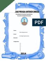 Informe Clima organizacional