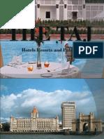 4Ps of The Taj