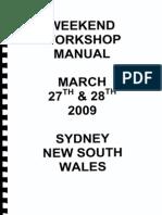 Workshop Manual April 2009