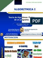 Algoritmica I 2014-I_sesion 1