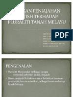 51300212 Kesan Penjajahan British Terhadap Pluraliti Di Tanah Melayu