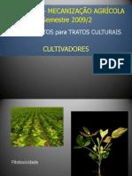 MECANIZAÇÃO AGRÍCOLA - Cultivadores