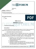 Turma Regular Intensiva 2013.1 - Pesencial- Manha Direito Administrativo - Rafael Oliveira - Aula 03 - 19.02.13