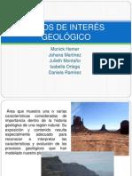 Sitios de Interes Geologico