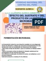 Efecto Del Sustrato y Producto en La Cinetica Microbiana2222