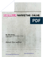 Guerrilla Marketing Online