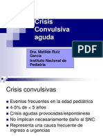 Crisis Convulsiva Aguda. Pediatria