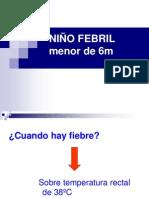 Niño Febril Menor 6m