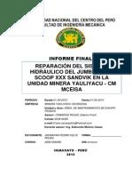 Formato de Informe de Practica Pre Profesionales