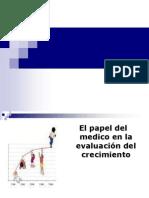 Crecimiento y Desarrollo. Valoracion Del Medico