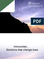 Immunotec's Business Presentation