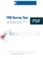 PSE Survey Tips