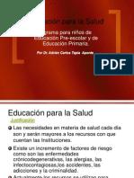 Educ.para La Salud _pre-Esc y Primaria