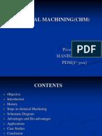 Chemcial Machining