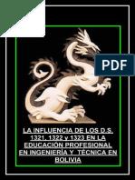 La Influencia de Los Decretos en La Educación Superior Boliviana