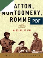 Patton, Montgomery, Rommel, by Terry Brighton - Excerpt