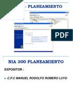 Planeamiento Nia 300
