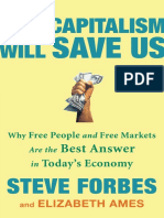 How Capitalism Will Save Us by Steve Forbes - Excerpt