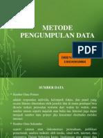 Bab 10 Metode Pengumpulan Data