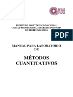Manual de Metodos Cuantitativos