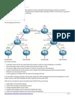 Creating an MPLS VPN