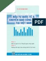 Dau Tu Quoc Te Va Chuyen Giao Cong Nghe Tai Viet Nam PDF - Tại 123doc.vn