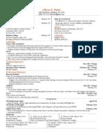 resume for emtii