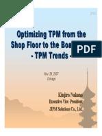 TPM Conference - JIPM - Nakano