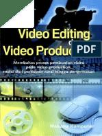 0144 [Www.pustaka78.Com] PG78 Video Editing & Video Production Oleh Wahana Komputer