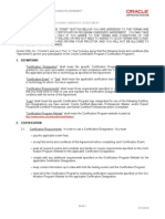 Ocp Candidate Agreement