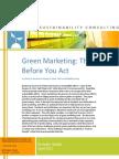 Green Mktg. Report