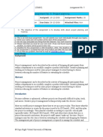 Software Engineering II - CS605 Fall 2006 Assignment 05