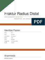 Fraktur Radius Distal