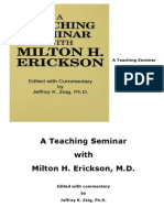 A Teaching Seminar With Milton H Erickson Copy