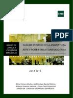 GUÍA II Arte y Poder en La Edad Moderna 2012-2013