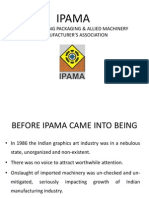 Journey of IPAMA