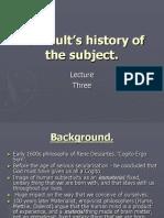 Foucault's History of the Subject