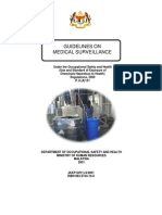 Guideline on Medical Surveillance