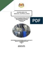 Guideline on Medical Surveillance