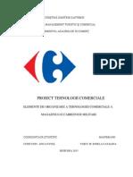 Proiect tehnologii comerciale