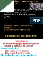 Sesión 24 Delitos Contra La Seguridad Vial