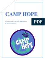 camp hope manual