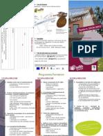 Formation basse énergie et construction bois, édition 2009, ADIB