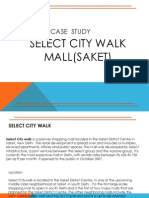 Select City Walk Mall Case Study