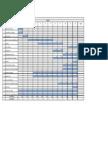 Modelo Planilha Cronograma