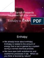 Enthalpy vs Entropy