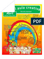 Revista El Aula Creativa Abril