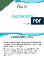 INDITEX CASE STUDY IN ITALIAN LANGUAGE