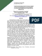 rancangan Sistem Informasi Pengukuran Green Productivity Dan Environmental Management